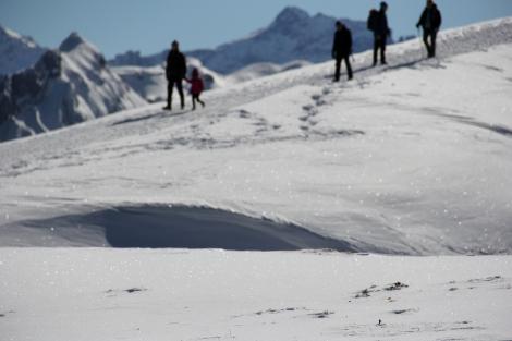 Schnee Leute