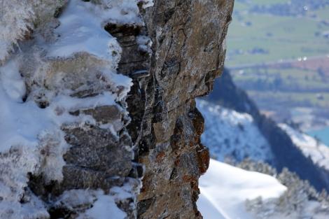 Stein Schnee