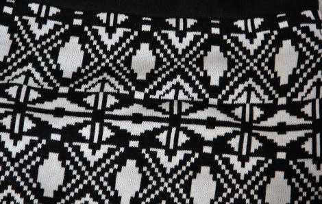 Schwarz-Weiss Muster