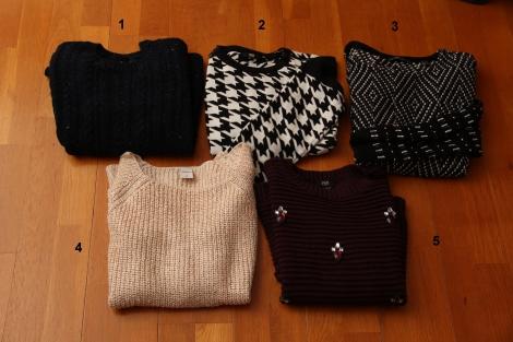 Sweaters und Cardigans